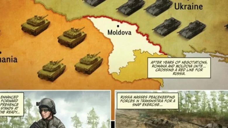 НАТО и США начали подготовку к столкновению с Россией на Днестре
