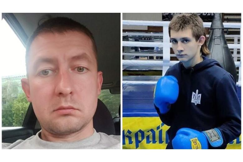 В Днепре отец старшеклассника Алексей Пономаренко (слева) рассказал о том, как его сын Михаил (справа) сорвал профориентационную беседу из-за мовы