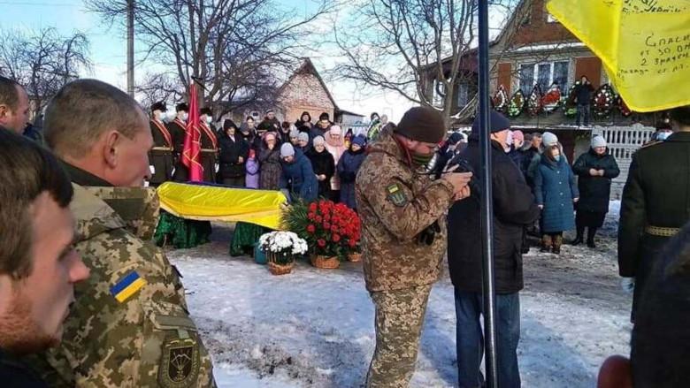 Похороны Назария Полищука / с. Вотиловка Лисянского района Черкасской области