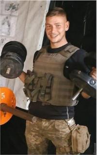 Военнослужащий 28-й ОМБр старший солдат Назарий Полищук
